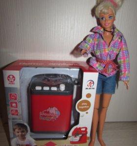 Пылесос, стиральная машинка и т.д. для Barbi.