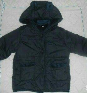 Тёплая курточка, шапка, кросовки