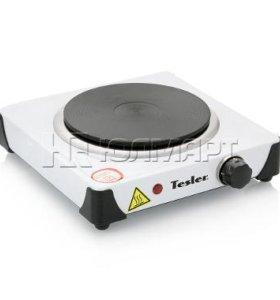 электроплитка Tesler PE-10 WHITE, 1 конфорка