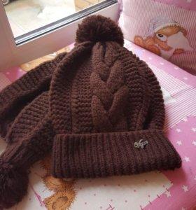 Комплект шарф+шапка