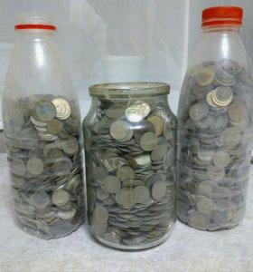 Монеты СССР 9 кг!!!