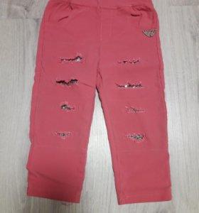 Модные штанишки на девочку
