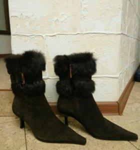 Новые сапоги зима