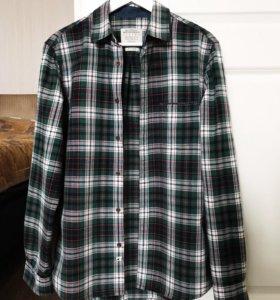 Рубашка муж в клетку Burton Menswear М