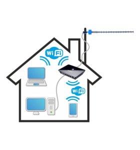 Интернет в частный дом или на дачу (3G/4G/Спутник)