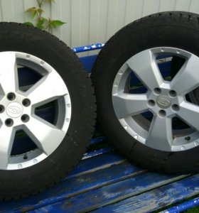 Зимние колеса Subaru 215/65/16 5*100