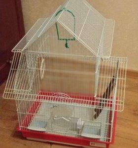 Клетка для птиц 50х40х40