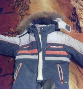 Куртка Новая зимняя для мальчика (5лет)