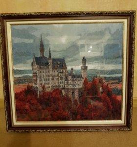 Картина Замок Нойшванштайн