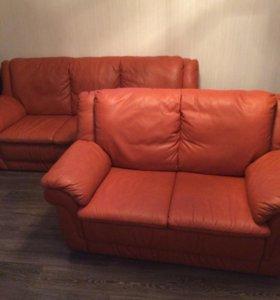 Комплект кожаных диванов Himolla, Германия