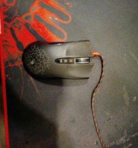 Игровая мышь-A4tech Bloody A9