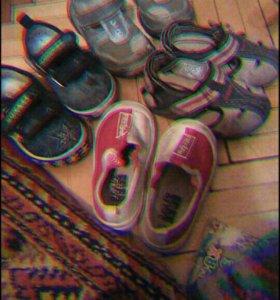 Детские ботинки. 21,22,размер. Вся обувь фирменноя
