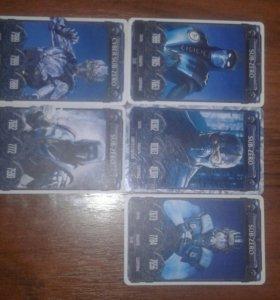 Карточки мортал комбат draxsus