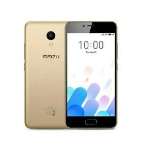 Новый Meizu m5c 32Gb