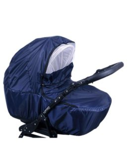 Дождевик на коляску из непромокаемой ткани