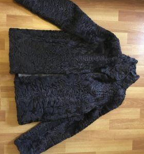 Куртка из каракуля