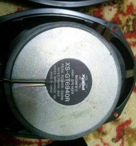 Колонки Sony xplod и магнитола Sony xplod
