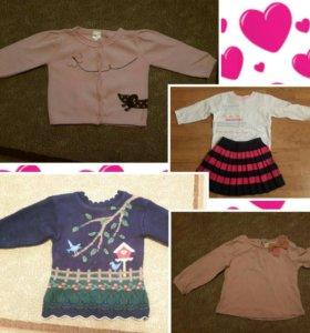 Одежда на девочку от 1,5 до 2,5 лет