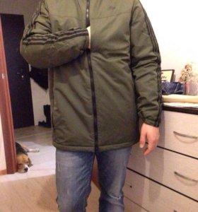 куртки новые адидас