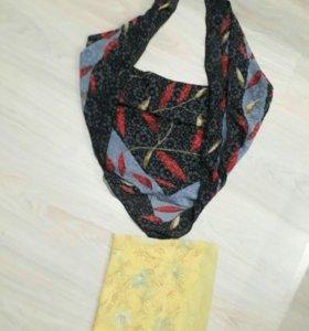 платки и шарфики демисезонные