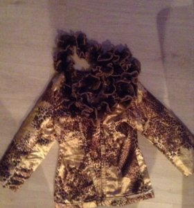 Осенняя куртка+шарф
