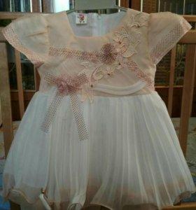 Праздничные платья на 1-1.5 года