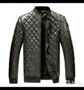 Куртку кожзам