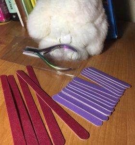 Пилки и щипчики для маникюра