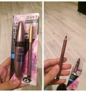 Тушь + карандаш 🎁