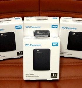 Внешний жесткий диск 1TB Western Digital (WD)