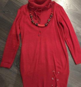 Туника джемпер платье