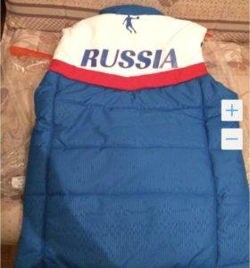 Жилет сборной России