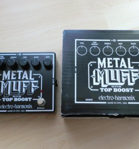 Педаль дисторш Electro Harmonix Metal Muff