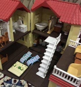 Большой дом с мебелью Silvanians