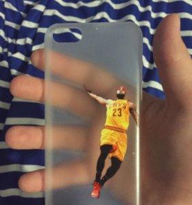 Чехол пластиковый на IPhone 5