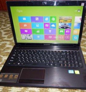 Игровой ноутбук Lenovo G580