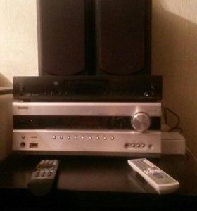 Onkyo TX-SR607 ресивер+cdплеер