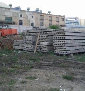 Плиты перекрытия, блоки ,панели и ж/б изделия б/у.