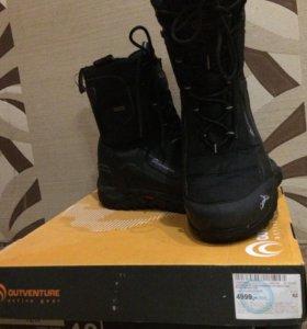 Мембранные зимние ботинки