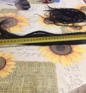 Волосы для наращивания капсула разного размера