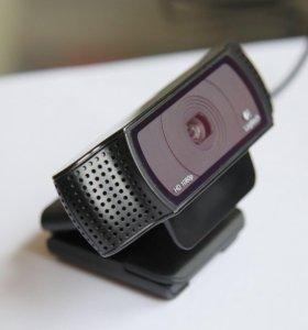 Веб-камера Logitech c920 Pro. Full HD