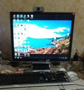 Asus Vento Компьютер+Монитор+Мышка+Клавиатура+Web