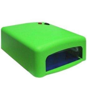 уф-лампа для полимеризации геля, гель лака.