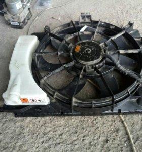 Вентилятор охлаждения на Хендай Солярис Киа Рио