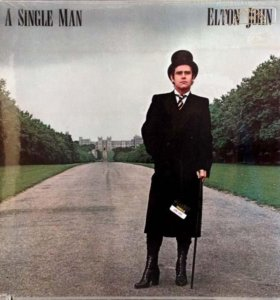 Фирменный LP Elton John – A Single Man - 1978