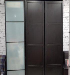 Двери от шкафа Пакс (Ikea). Высота шкафа 236 см.