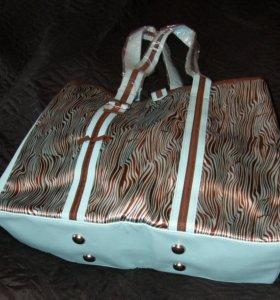 Jafra Новая пляжная летняя сумка большая