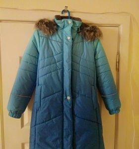 Пальто зимнее детское финское