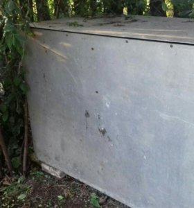 Продам алюминиевый ящик