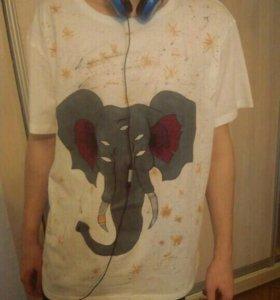 Ручная роспись на футболках